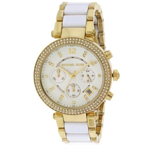 Michael Kors Parker Gold-Tone Ladies Watch MK6119