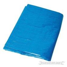 Silverline Tarpaulin 6.1 x 9m - 61 633522 Waterproof -  tarpaulin silverline x 9m 61 633522 waterproof