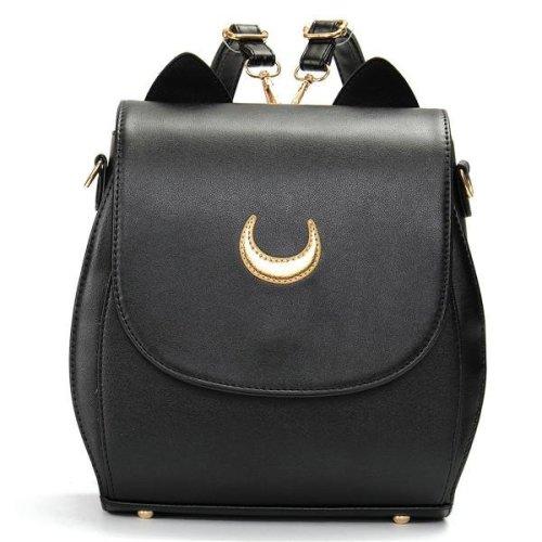 Women Cat Sailor Moon Luna Backpack