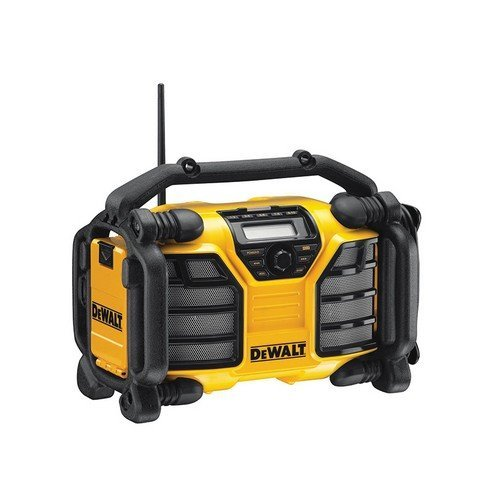 DeWalt DCR017 XR Li-ion DAB Radio Charger 2 Power Outlets 240 Volt