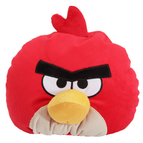 Angry Birds Childrens/Kids Bean Filled Character Cushion