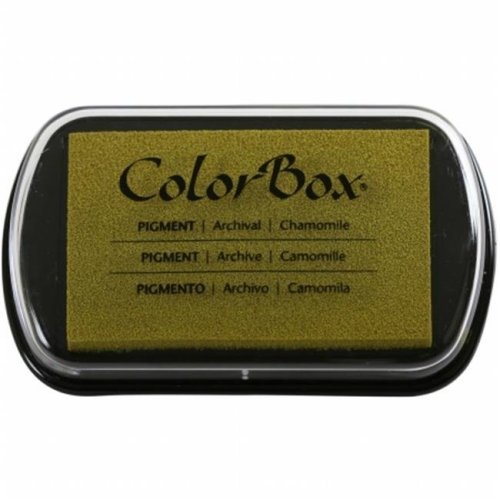 150000-15232 ColorBox Pigment Ink Pad, Chamomile