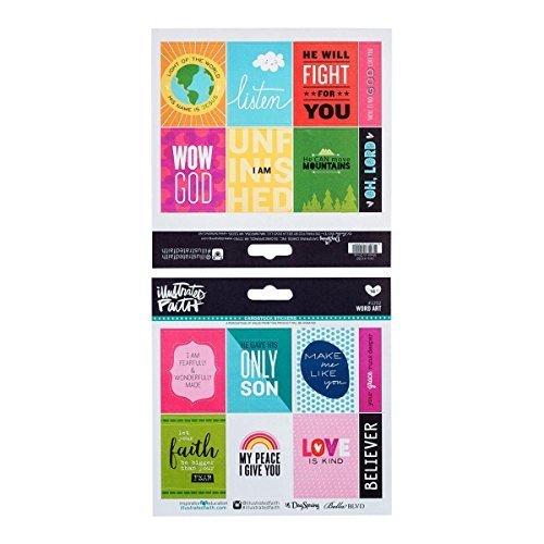 Illustrated Faith  - Stickers - Word Art