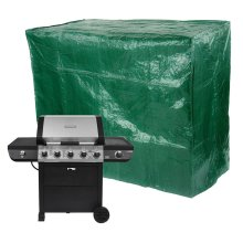 Parkland Large BBQ Cover Outdoor Durable Waterproof Barbecue Covers Garden Patio Grill Gas Rain Protector - L155cm x W61cm x H97cm