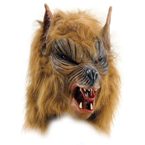 Werewolf Mask (Brown)