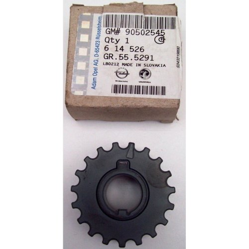 Vauxhall Opel Astra Meriva Corsa Genuine New Crankshaft Pulley Gear GM 90502545