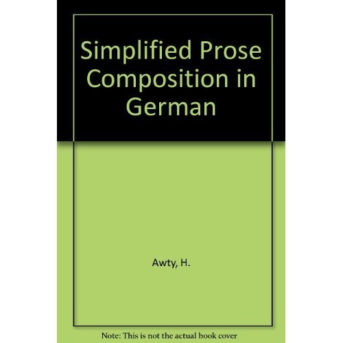 Simplified Prose Composition in German