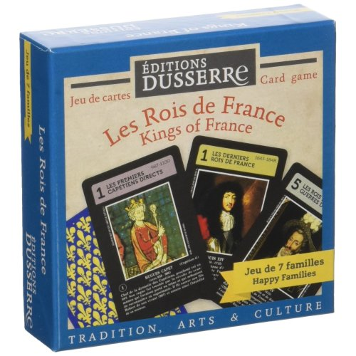 Héron Blue Heron – F03 – Card Game of 7 families – The Kings Of France