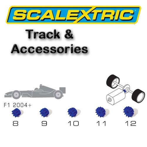 Scalextric Accessories - Pack of 5 Asst Pinion Gears F