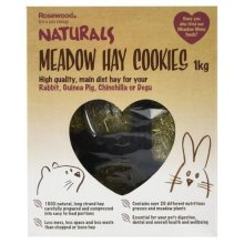 Rosewood Naturals Meadow Hay Cookies for Small Animals 1kg
