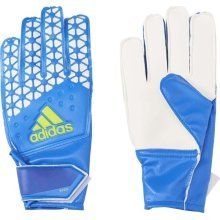 Adidas Ace Junior Goalkeeper Gloves Blue/White Size 8