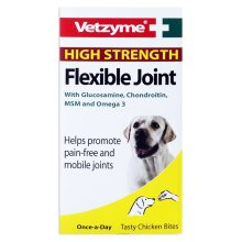 Vetzyme High Strength Flexible Joint Dog Tablets