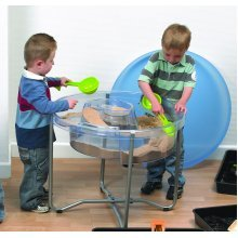 Childrens Circular Sand & Water Tray, Stand & Lid Set (72258)