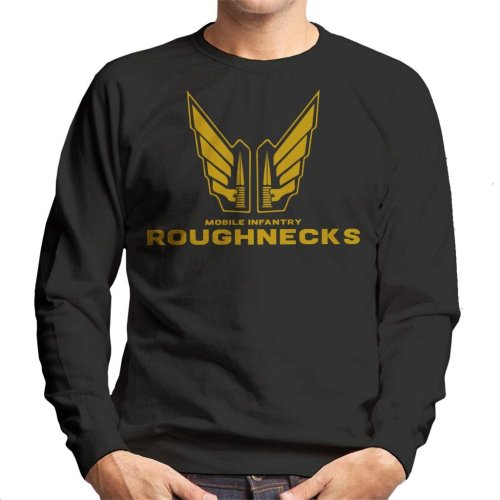 Starship Troopers Mobile Infantry Roughnecks Logo Men's Sweatshirt