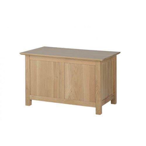 Devonshire New Oak Furniture Small Blanket Box