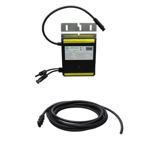 AIMS PIGRID250-1T 250W Micro Grid Tie Inverter with Cable