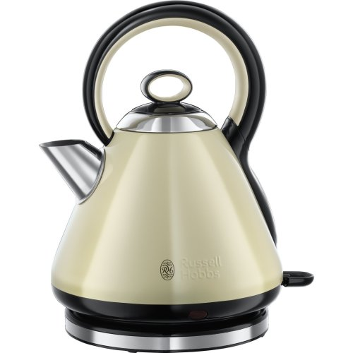 Russell Hobbs 21888 Legacy Quiet Boil Kettle, 3000 W, 1.7 Litre, Cream