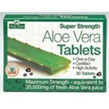 Aloe Pura Super Strength Aloe Vera 60 Tablets