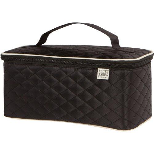 6c9dba177efc Ellis James Designs Travel Make Up Bag Large - Black - Vanity Case Large -  Large Makeup Bags For Women, Make Up Case Large, Travel Makeup Bag,...