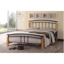 Tetras Bed Frame | Metal & Wood Bed Frame