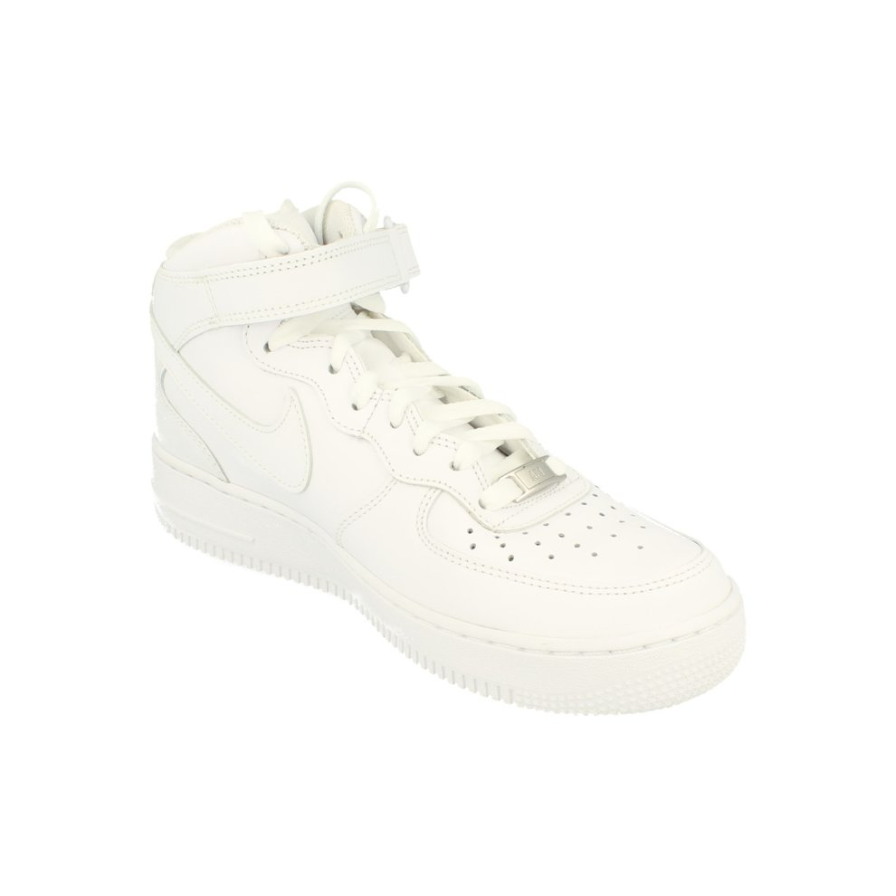 half off 2d435 54477 ... Nike Air Force 1 Mid 07 Mens Trainers 315123 Sneakers Shoes - 3 ...