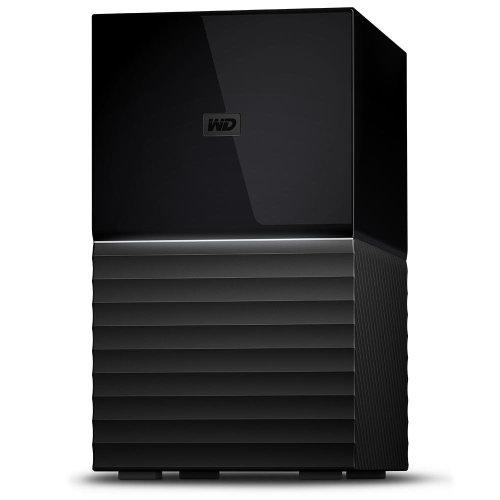 Western Digital My Book Duo 16000GB Desktop Black disk array