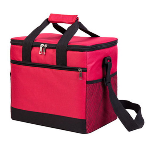 Outdoor Picnic Bag 20L  Large Soft Cooler Insulated Picnic Lunch  Bag for Grocery, Camping, Car, #B