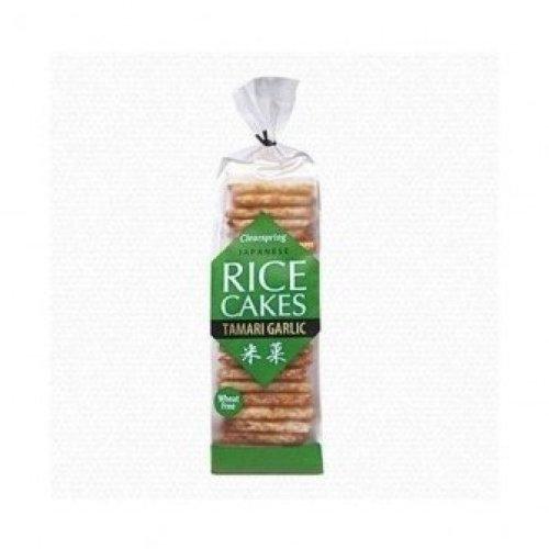 Clearspring - Rice Cakes Tamari Garlic 150g