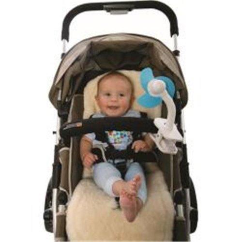 Tee-Zed Products L230 Dreambaby Stroller Fan - Blue & White