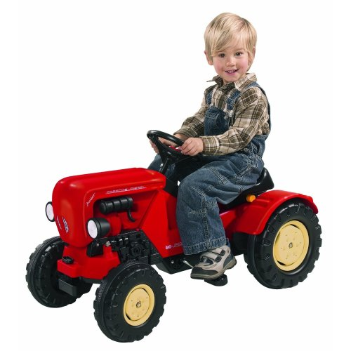 Smoby Big Porsche Diesel Junior Ride-On Tractor