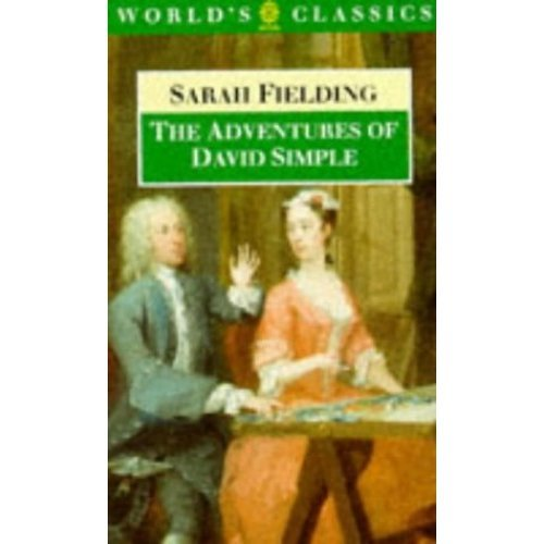 The Adventures of David Simple (Oxford English Novels)