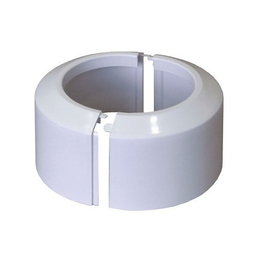 High Split Two-piece White Wc Toilet Rosette Soil Pipe Connection Collar Cover 110mm
