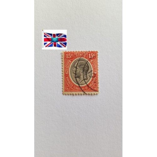 "Tanganyika 1927 "" King George V Issues (1927-31) Issues of Tanganyika "" 15 East African cent"