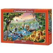 Csb52141 - Castorland Jigsaw 500 Pc - Jungle River