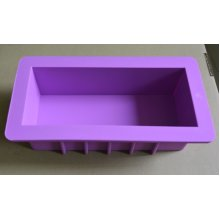 Reinforced Soap Mold Silicone Cake Chocolate Bar Loaf Candle Mould