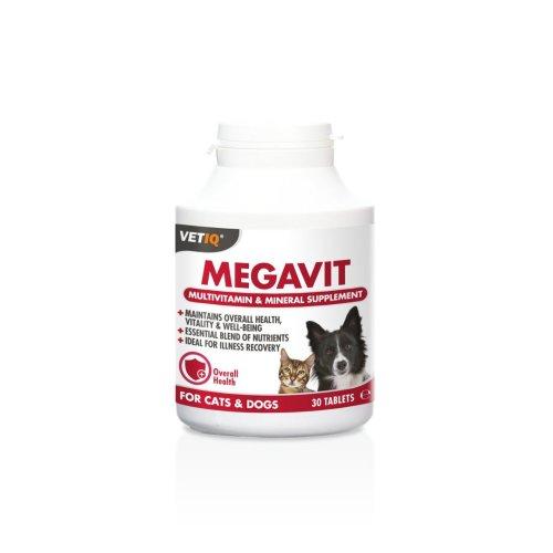 VetIQ Megavit Plus For Dogs & Cats 30 Tablets