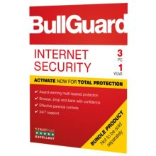 Bullguard Internet Security 2019 Soft Box, 3 User (25 Pack), Windows Only, 1 Year