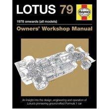 Lotus 79 Owners' Workshop Manual: 1978 Onwards (all Models) 2016