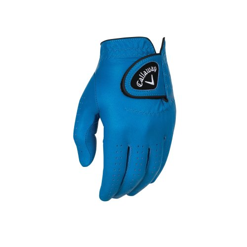 Callaway Golf Opti-Colour Gloves, Blue, Large