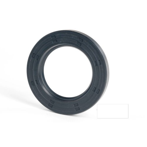 4x12x6mm Oil Seal Nitrile Single Lip With Spring 2 Pack