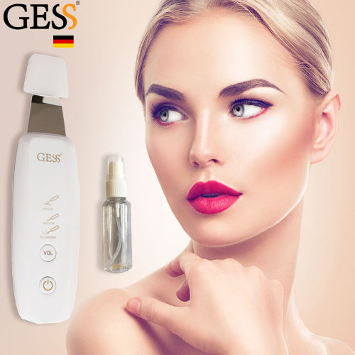 Facial Skin Ultrasonic Scrubber SPA Gentle Peel Dermabrasion Skin USB