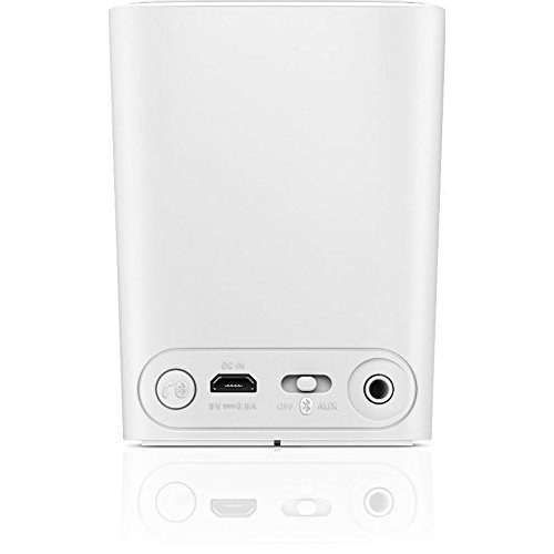 Philips BT100W 37 Wireless Mini Portable Bluetooth Speaker White