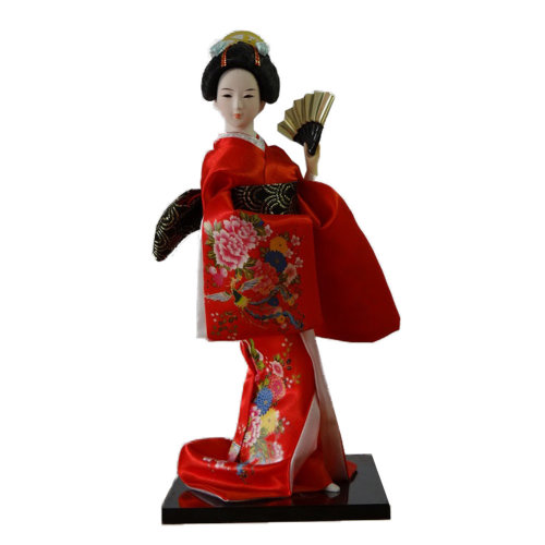 Japanese Geisha Doll Furnishing Articles/ Oriental Doll/ Best Gifts     A
