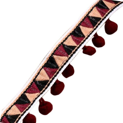 DIY Craft Vintage Tassels Ribbon (6.6 Feet) #3