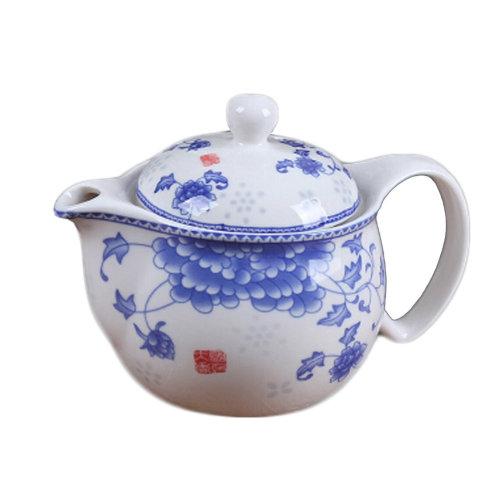 Ceramic Tea Kettle Stylish Teapot With Tea Infuser To Brew Loose Leaf Tea