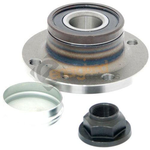 Vauxhall Corsa D 2006-2015 Rear Hub Wheel Bearing Kit 4 Stud Drum Brakes