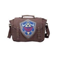 Nintendo Legend of Zelda Hylian Shield Messenger Bag - Brown (MB210116ZEL)