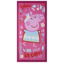 Peppa Pig 'Follow Your Dreams' Beach Towel