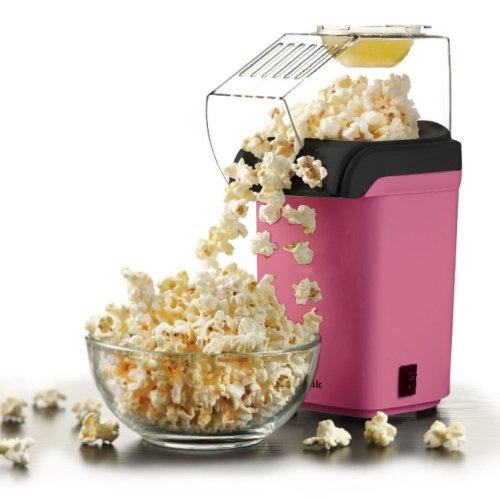 1200w Pink Electric Hot Air Healthy Pop corn Popper Maker Machine