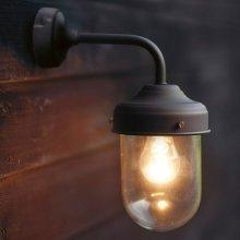 Barn Lamp in Coffee Bean